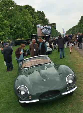 Фото №9 - Автомобили Jaguar на Королевском фестивале в Виндзоре