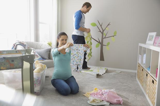 как украсить комнату к рождению ребенка