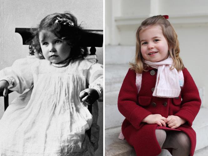 Фото №3 - Глаза Дианы, улыбка Елизаветы: с кем теперь сравнивают принцессу Шарлотту