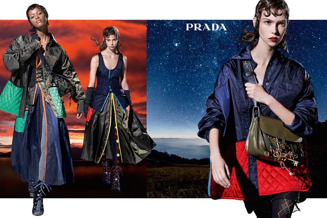 Фото №3 - 27 ярких моделей в осенней рекламной кампании Prada