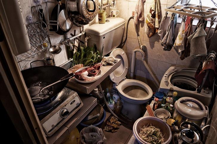Фото №4 - Как выглядит жизнь на двух квадратных метрах: 10 фото