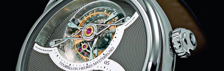 Фото №2 - Как устроены современные наручные часы: репетир, турбийон, вечный календарь и другие навороты