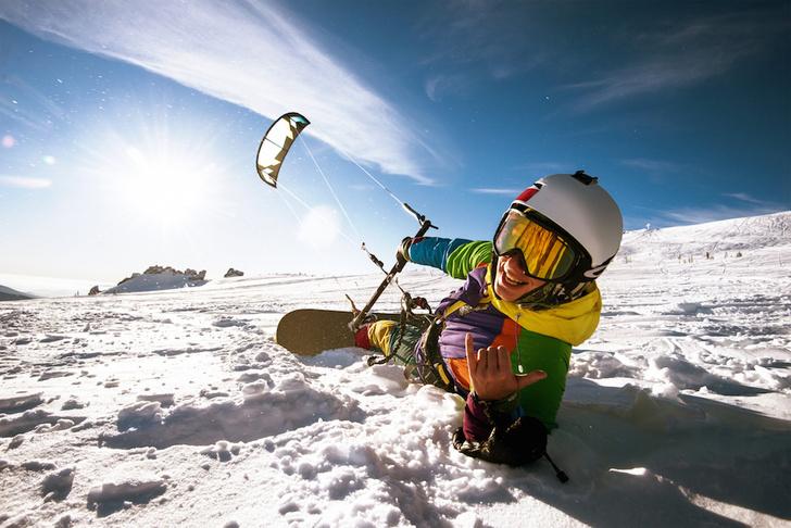 Фото №3 - Метла, сковородка и воздушный змей: 7 неожиданных зимних видов спорта