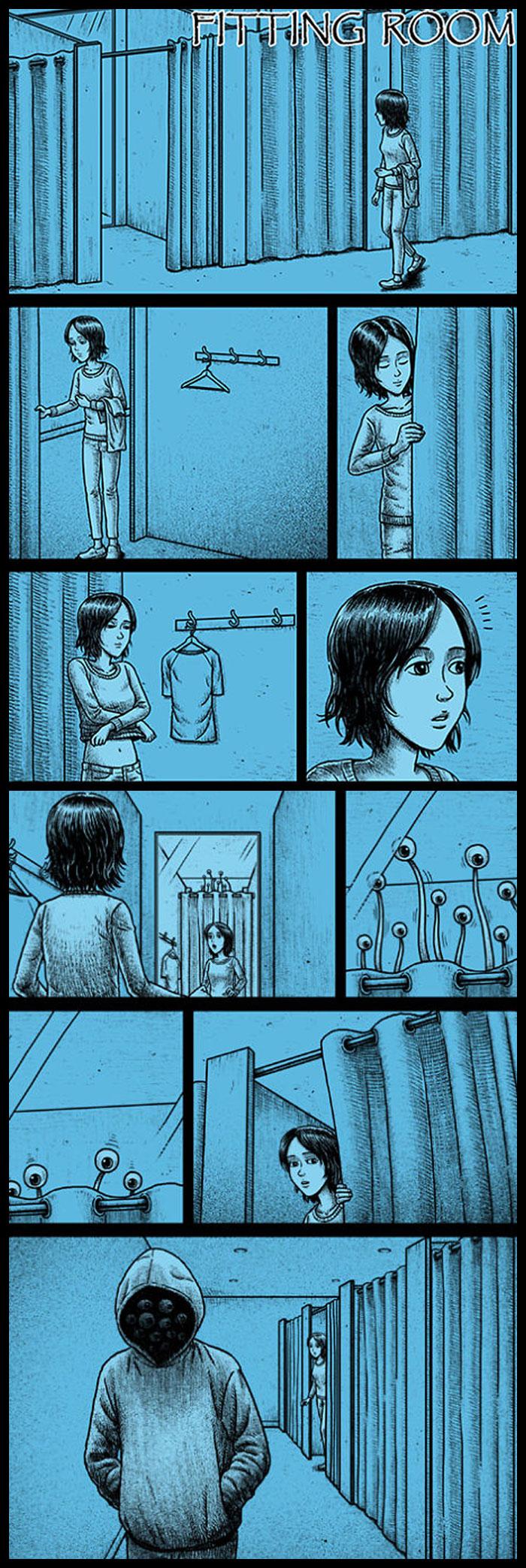 Фото №21 - 30 комиксов с отборным черным юмором от Бена Чена