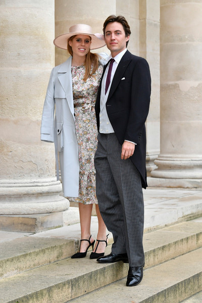 Принцесса Беатрис с женихом