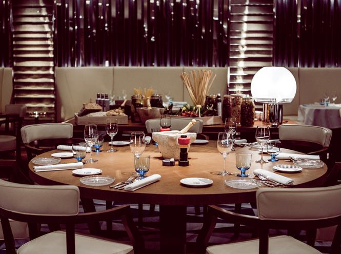 Ресторан Rivea при отеле Bulgari London