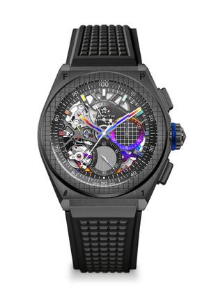 Фото №2 - Крупным планом: часы Zenith, созданные при участии современного художника Фелипе Пантоне