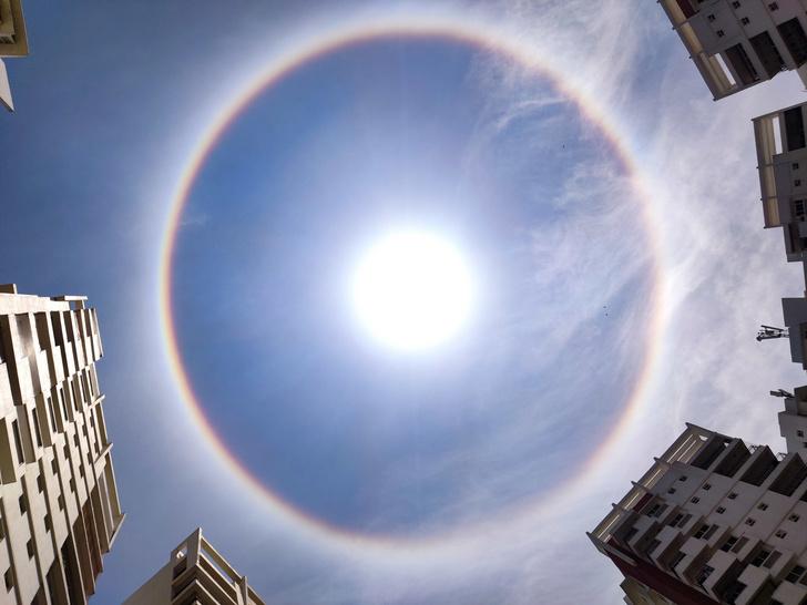 Фото №1 - Оптический феномен