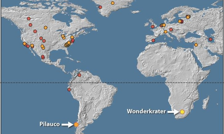 Фото №1 - Найдены доказательства разрушительного удара астероида о Землю