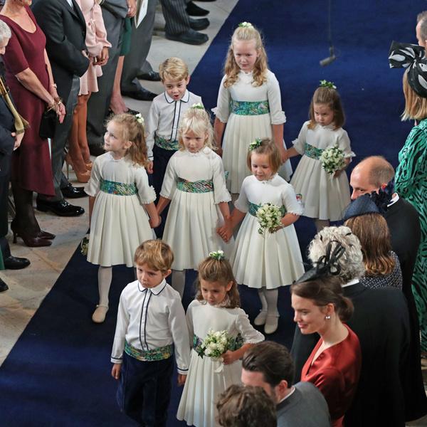 Фото №49 - Свадьба принцессы Евгении и Джека Бруксбэнка