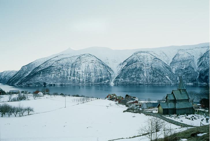 Фото №1 - Норвежские каркасные церкви