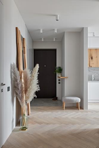 Фото №6 - Бетонная квартира 115 м² с камином в Санкт-Петербурге