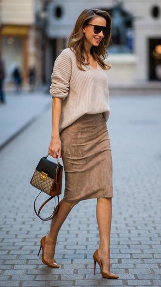 Фото №3 - На любой случай: с чем носить юбку-карандаш