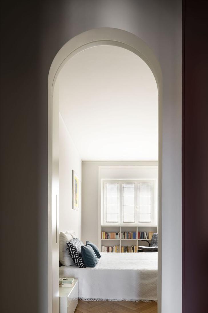 Фото №8 - Квартира с домашней библиотекой в Милане