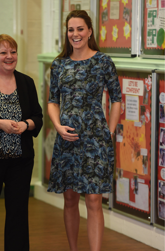 Фото №5 - К работе после праздников: первый визит герцогини Кэтрин в 2018 году