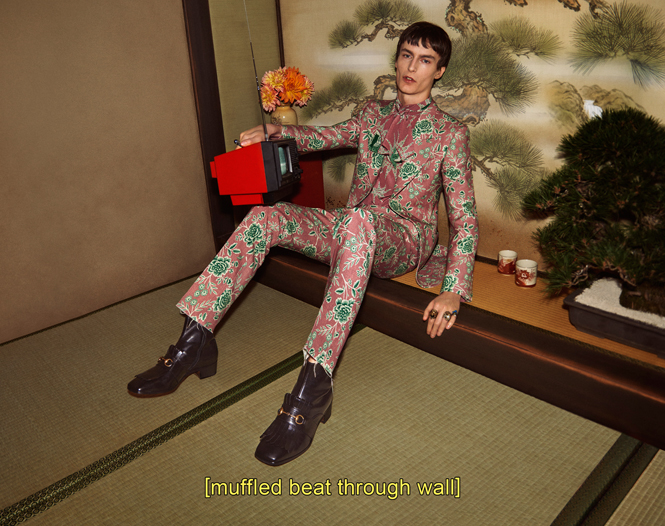 Фото №11 - Японское приключение Петры Коллинс и Ко: новая кампания Gucci