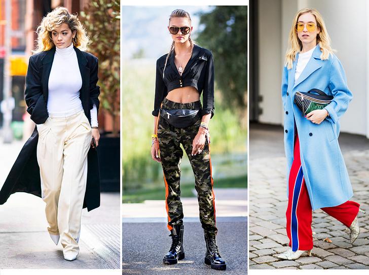 Фото №1 - Штрипки, карго и палаццо: 5 самых модных брюк сезона