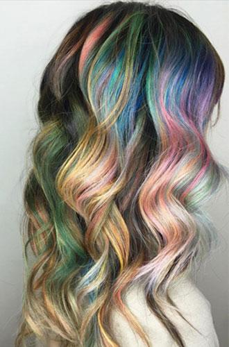 Фото №19 - Бьюти-тренд: разноцветные волосы
