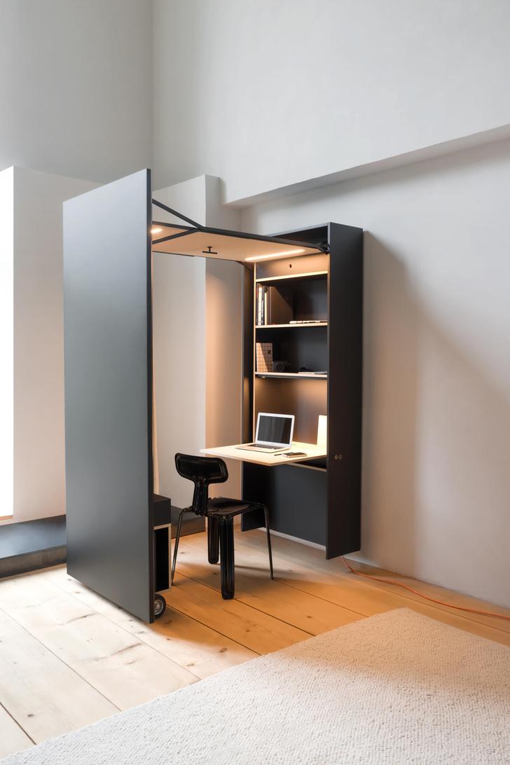 Фото №1 - Der Vorstand: складной домашний офис от Nils Holger Moormann