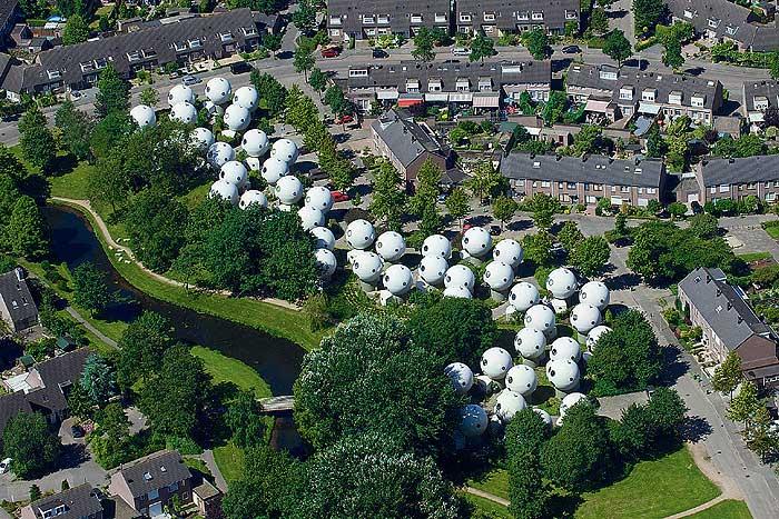Фото №1 - Вид с неба: Жизнь в шарике