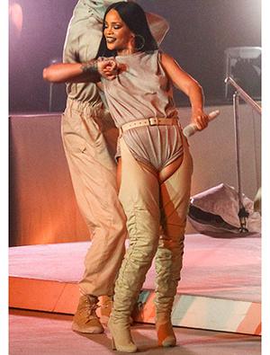 Фото №2 - Загадочная Рианна: то ли толстая, то ли беременная