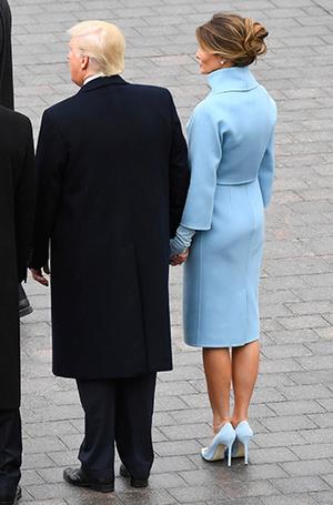 Фото №3 - Рождение fashion-звезды: Мелания Трамп на инаугурации