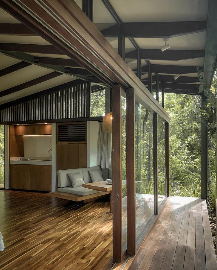 Фото №6 - Tetra Pod: сборный дом из переработанных материалов в Индонезии