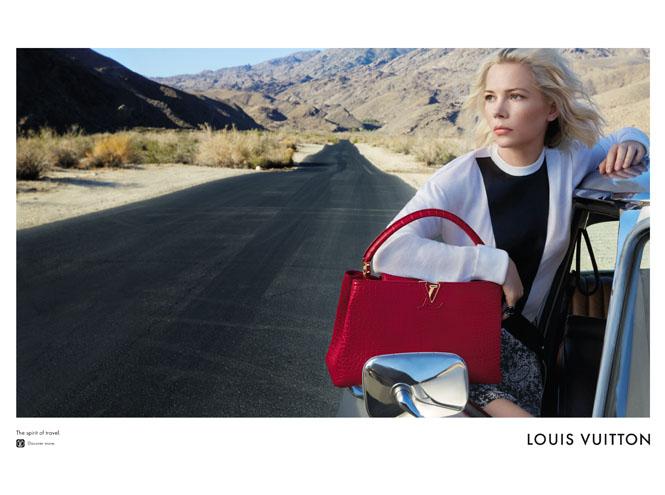 Фото №2 - Дух путешествий: Мишель Уильямс в рекламе Louis Vuitton