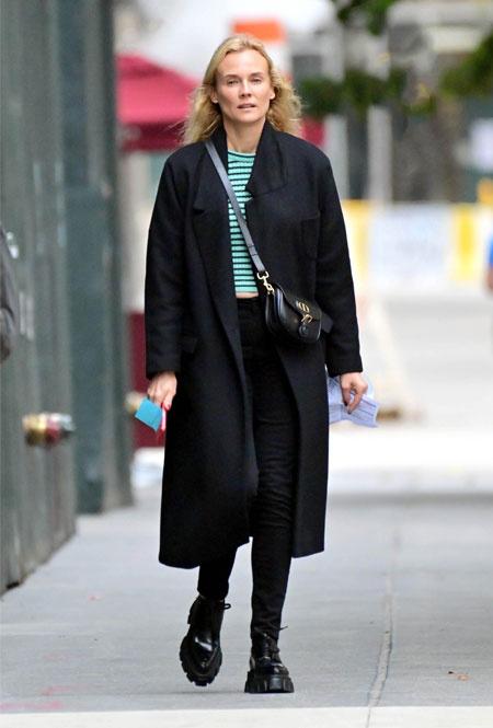 Диана Крюгер в Нью-Йорке