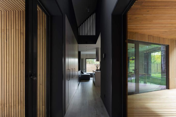 Фото №6 - Современная архитектура: деревянный дом 134 м² в Сибири
