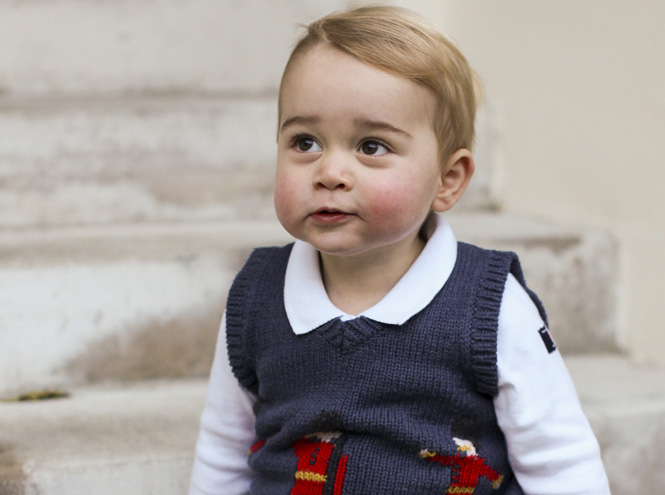 Фото №1 - Принцу Джорджу исполнилось два года