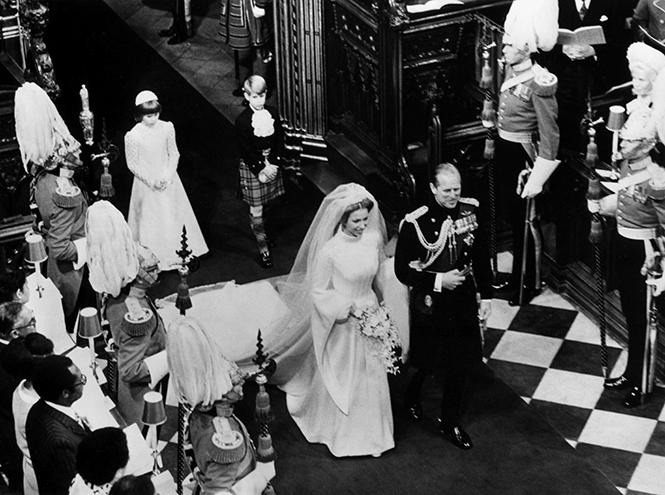 Фото №17 - Первая свадьба принцессы Анны: как выходила замуж дочь Елизаветы II