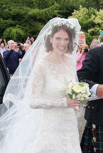 Фото №6 - Свадьба звезд «Игры престолов» Кита Харингтона и Роуз Лесли