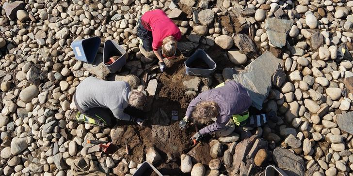 Фото №1 - В Норвегии найден древнеримский бронзовый котел