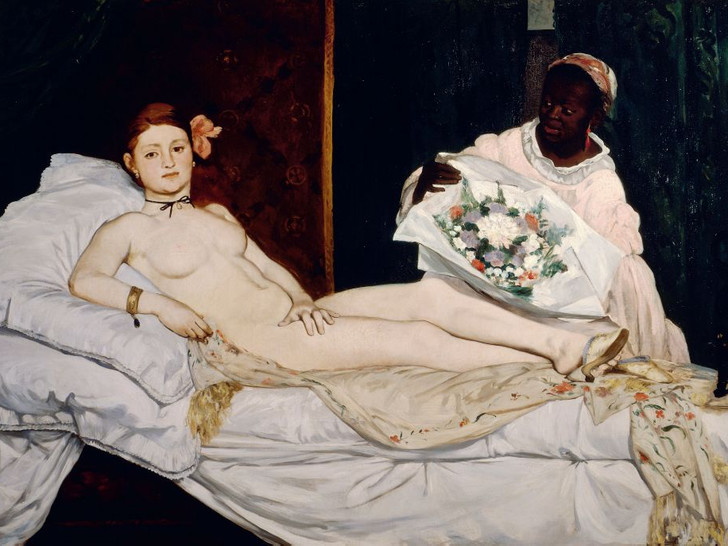 Фото №1 - Великолепная «Олимпия»: тайные смыслы и символы самой скандальной картины Эдуарда Мане