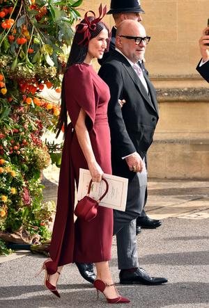 Фото №11 - Самые стильные гости на свадьбе принцессы Евгении и Джека Бруксбэнка