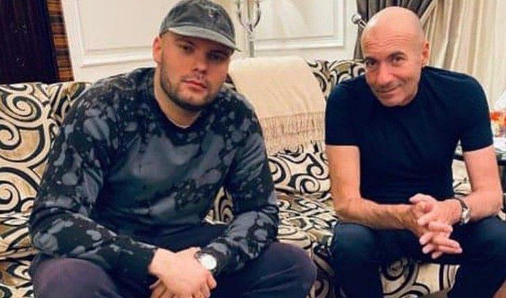 Игорь Крутой с внебрачным сыном по имени Яков