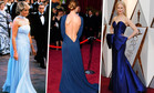 20 самых красивых синих платьев в истории моды
