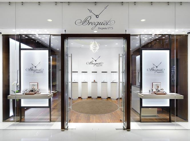 Фото №1 - Breguet: как выглядит новый бутик легендарного бренда