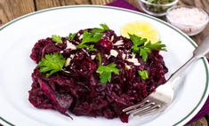 Салат с черносливом, сыром и орехами