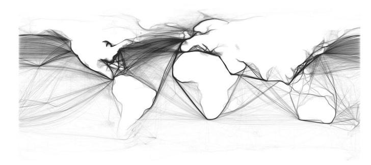 Фото №6 - 8 карт, на которых показана вся инфраструктура Земли
