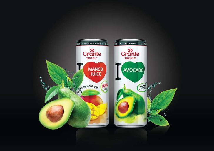 Фото №3 - Grante выпустил линейку экзотических 100% соков Tropic для всех, кто мечтал о кокосовом молоке и воде из тропиков!