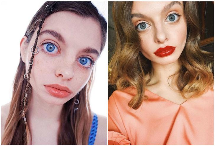 Фото №1 - Интернет не может понять, настоящие у девушки глаза или нет