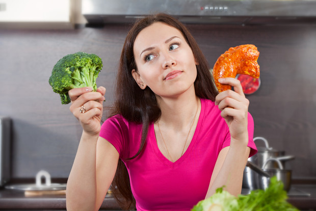 Фото №1 - Женщинам пытающимся похудеть следует начать питаться по-мужски