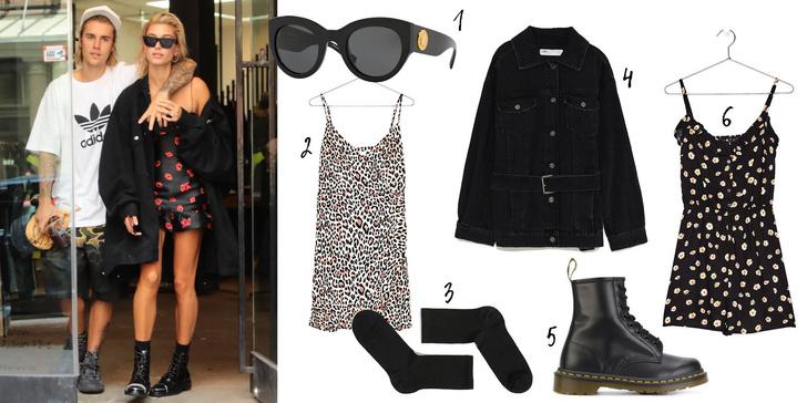 Фото №1 - Look of the day: Хейли Болдуин покажет, в чем ходить по магазинам