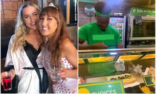 «Пьяный» заказ девушки так удивил работников закусочной, что они его сфотографировали