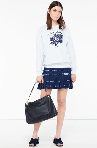 Фото №9 - Тренды весны в новой коллекции сумок и обуви Sandro SS17