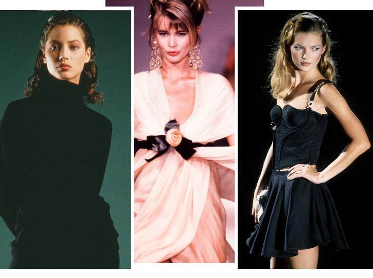 Фото №1 - Назад в прошлое: как выглядели супермодели в начале карьеры