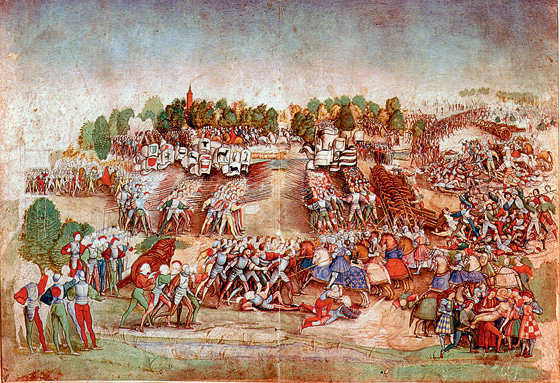 Фото №1 - 500 лет назад... Швейцария решила соблюдать нейтралитет