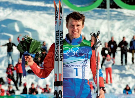 Лыжник Андрей Панжинский
